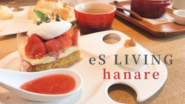 エスコヤマ hanare カフェ