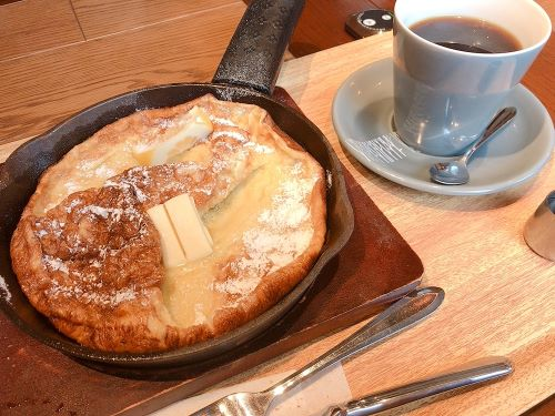 あずさ珈琲 あずさコーヒー ランチメニュー パンケーキ