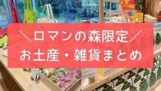 ロマンの森 京都 限定 お菓子 お土産 雑貨 マールブランシュ