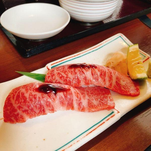 近江牛すき焼き 伽羅 ランチ 肉寿司
